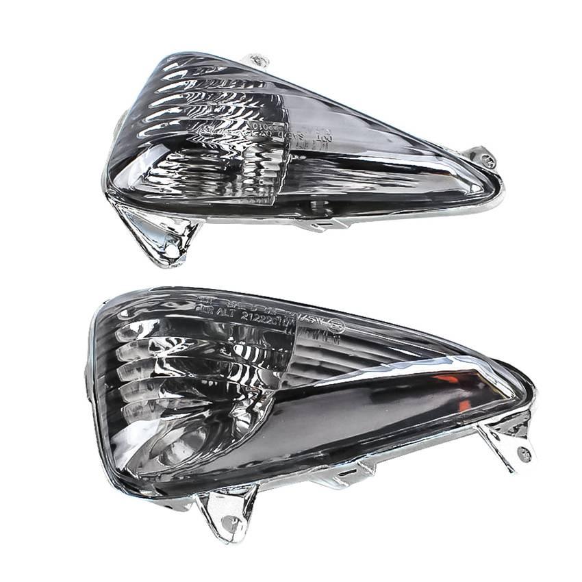 Front Turn Signals Indicator Blinker Lenses for Honda CBF600S CBF 600 S VARADERO 1000 CBF 600 S All Years Smoke Motorcycle Parts